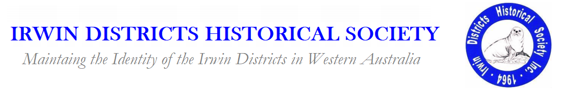 Logo for Irwin Districts Historical Society